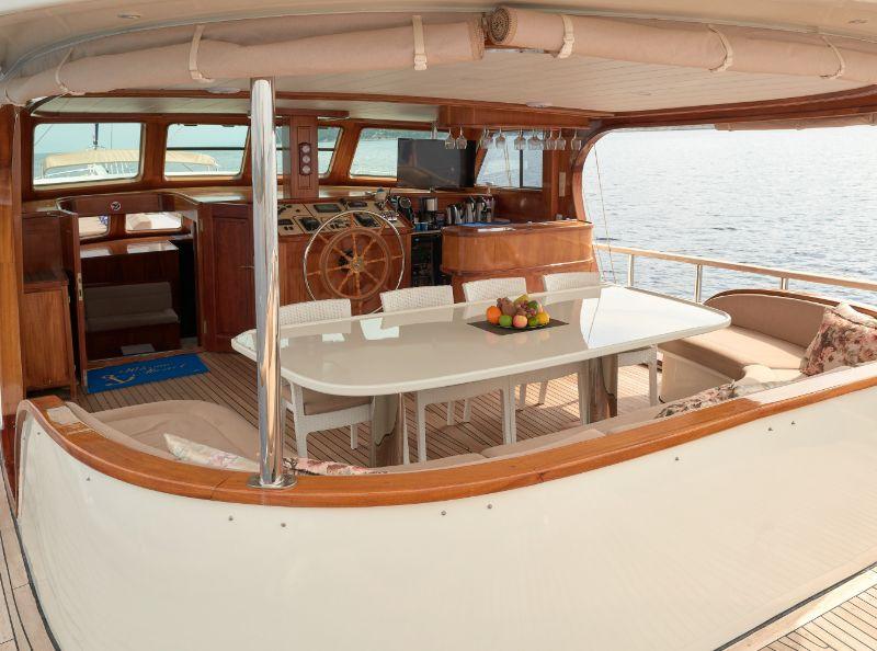 Gulet Sea Breeze - Deck