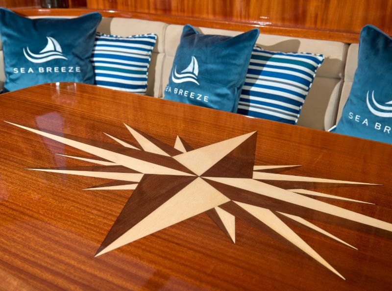 Gulet Sea Breeze - Dining and Salon